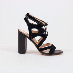 Sam Edelman Yardley Lace Up Heels Black US 8.5M